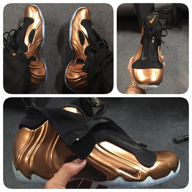 DJ Envy Picks Up Nike Air Flightposite 2014 Copper
