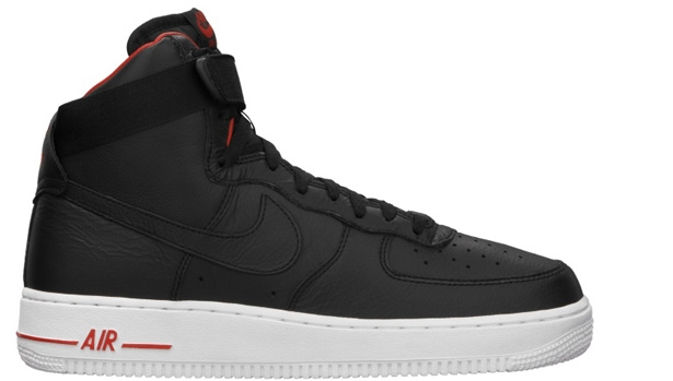 Nike Air Force 1 High Premium Black/Black