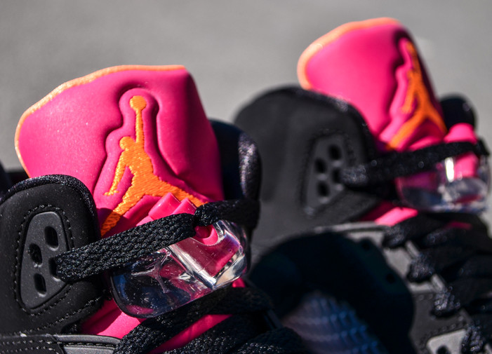 9718eb4f14f6fd ... spain the black bright citrus fusion pink air jordan 5 retro gs is set  to release