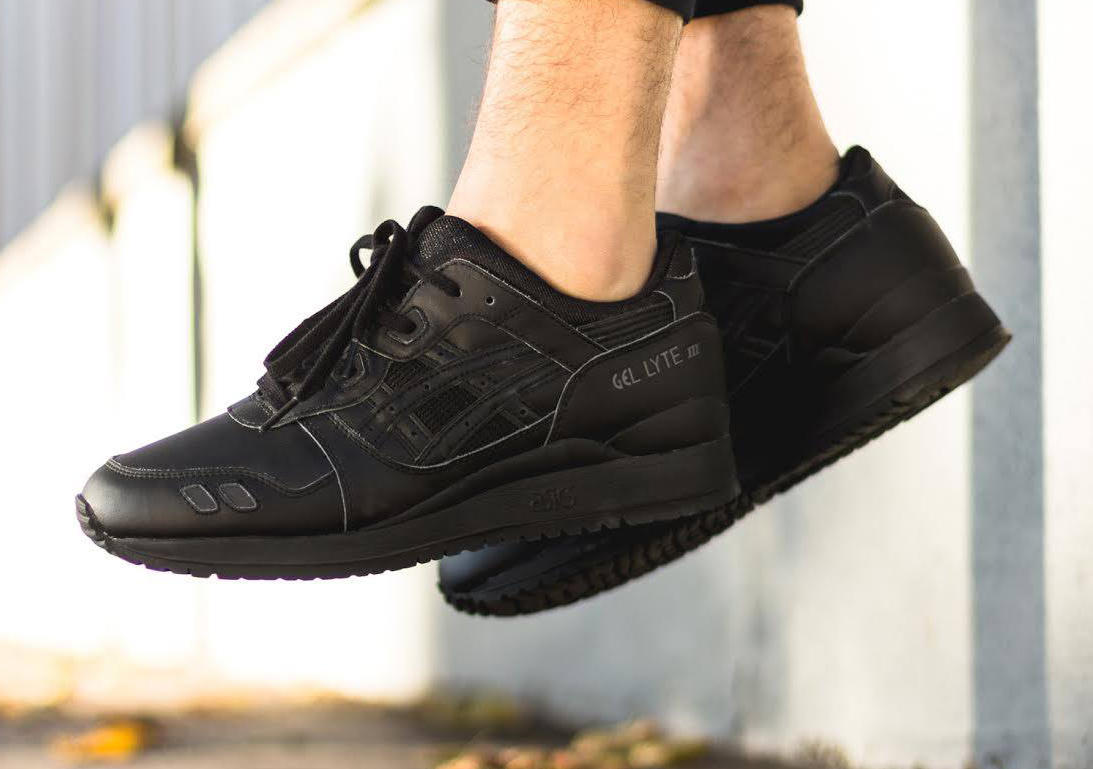 the best attitude 9a5f2 8bbb2 All-black Everything for the Asics Gel Lyte III | Sole Collector
