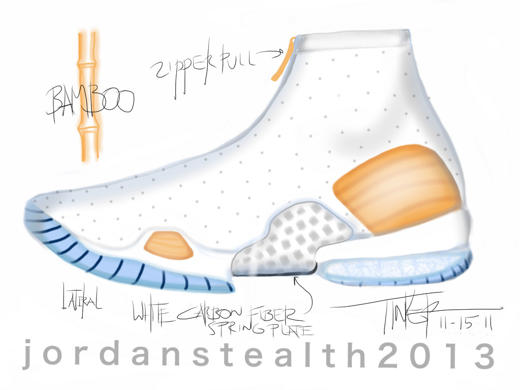 Air Jordan XX8 Sketch Work (2)