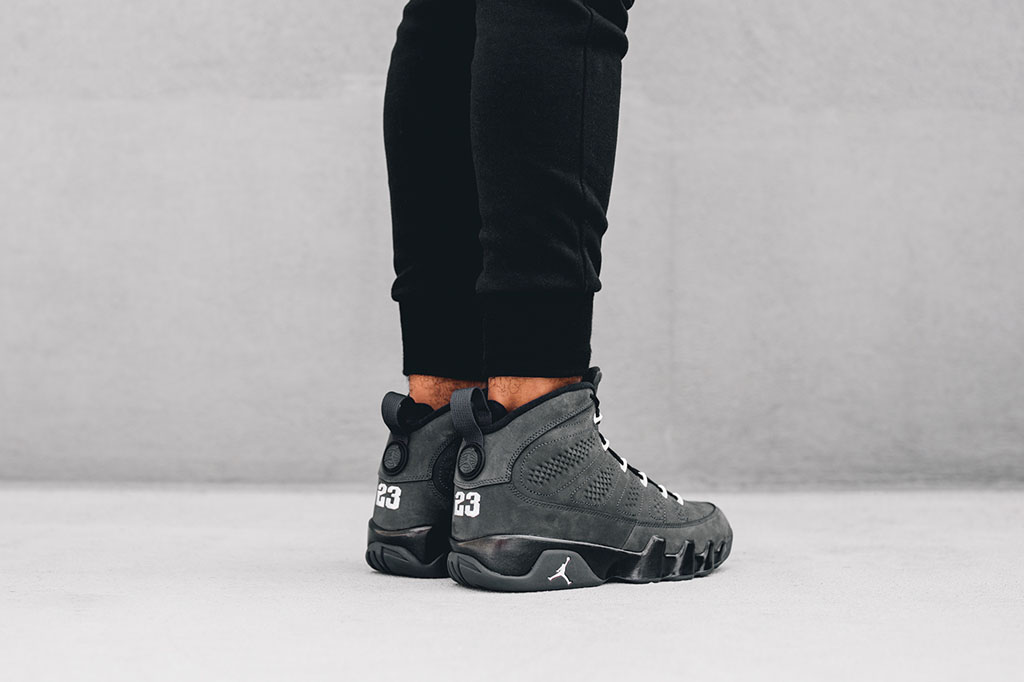 sneakers for cheap 8b49f 9e06b Release Date: Air Jordan 9 'Anthracite' | Sole Collector