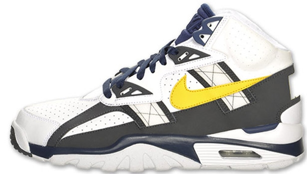 Nike Air Trainer SC High White/Tour Yellow-Anthracite-Midnight Navy