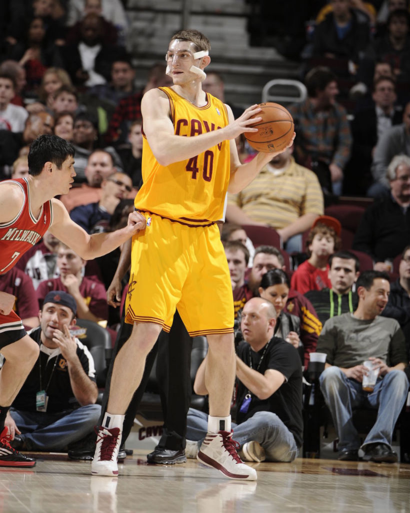 Tyler Zeller wearing adidas Crazy Shadow