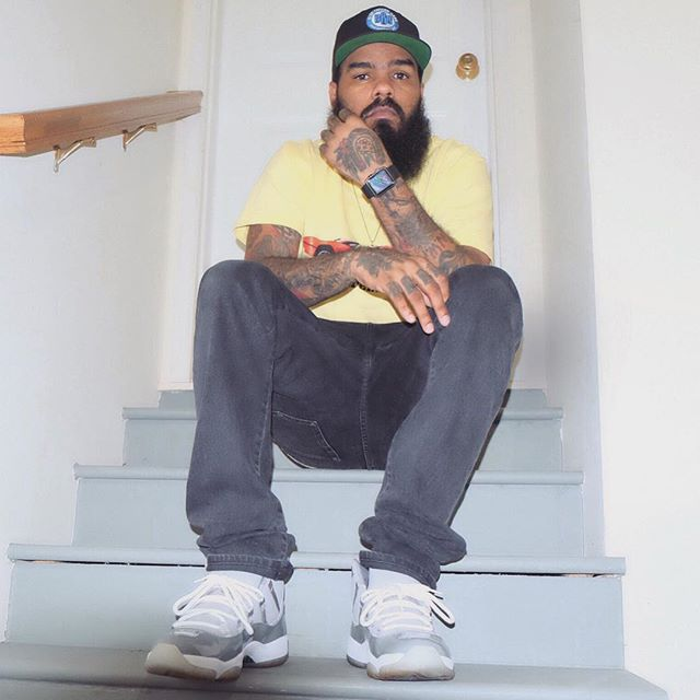 496f2 a9d97  discount code for stalley wearing the cool grey air jordan 11  42e51 f2bea 613f4eefe