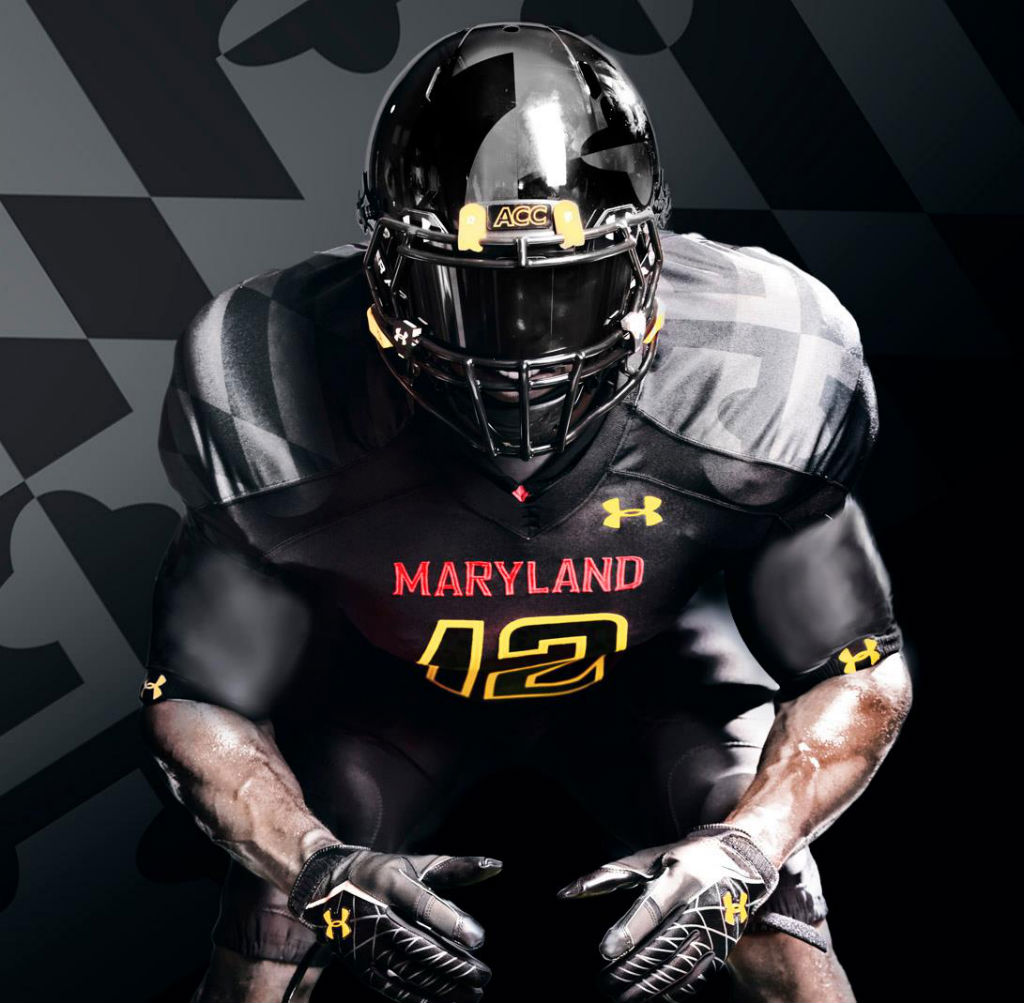 Maryland's Under Armour Black Ops Football Uniforms (5)