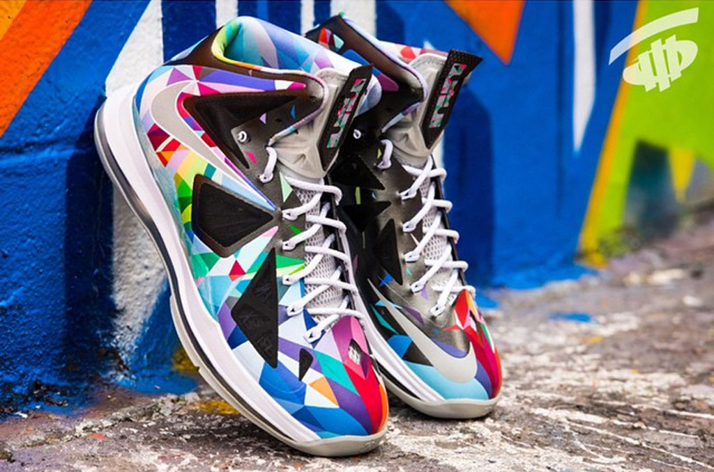 572f0caadfe Customizer ROM has used his creative mind on the LeBron 10 for his latest  work.