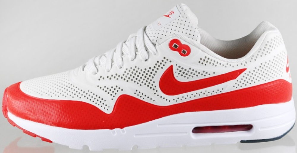 Nike Air Max 1 Ultra Moire Summit White/Challenge Red-White