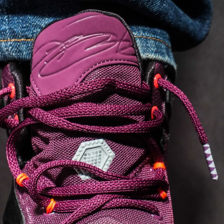 Nike LeBron 13 Berry On-Foot 807219-500 (4)