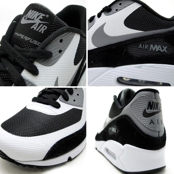 newest 1d9cc 7955e nike air max 90 premium black white grey