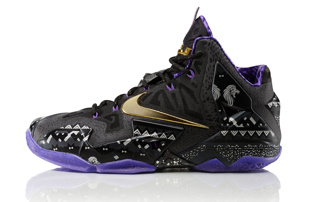 Nike Basketball & Jordan Black History Month 2014 Collection - LeBron 11 (1)
