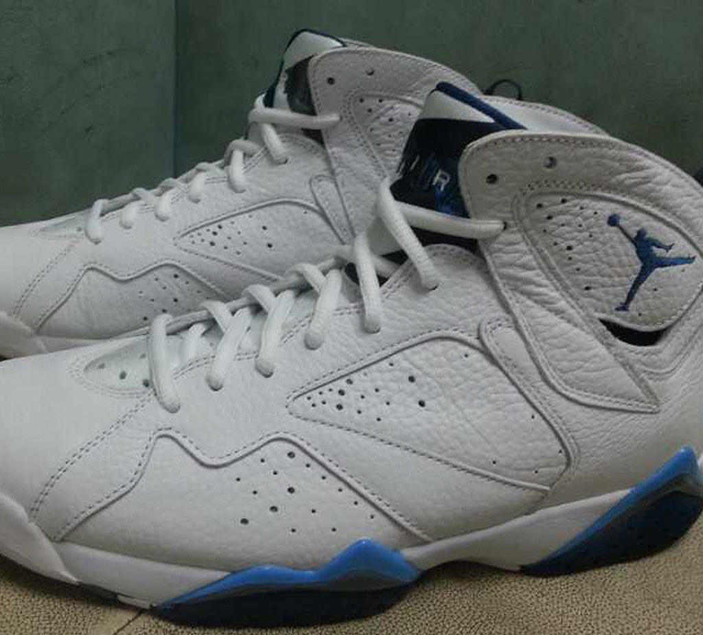 reputable site a9cd0 6644d ... Another Look at the 2015 French Blue Air Jordan 7 Retro Sole Collector  ...
