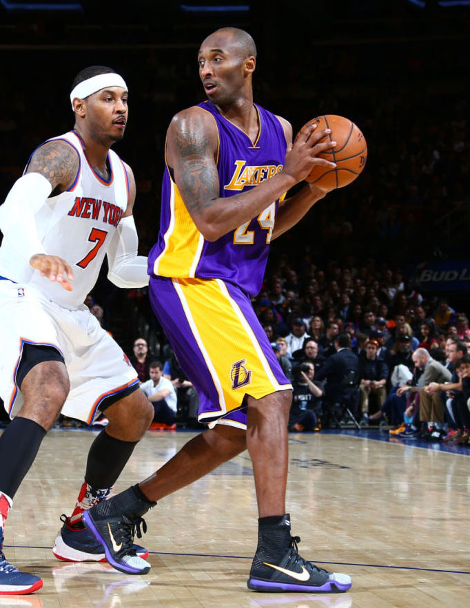 Solewatch Kobe Bryant Says Farewell To The Garden In New