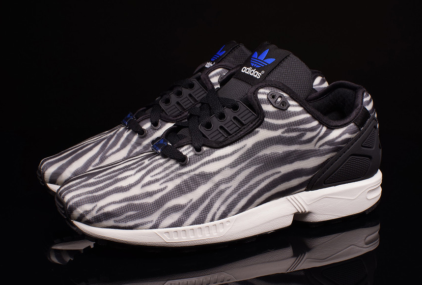 f467596de823 The adidas ZX Flux Decon gets wild with some animal style prints.