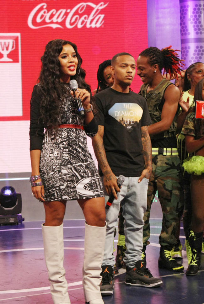 Bow Wow wearing Air Jordan III 3 Retro Fear Pack (2)