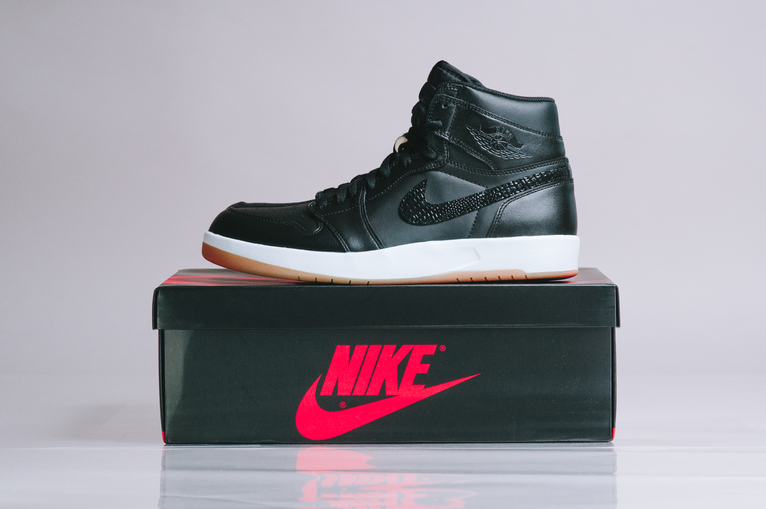 sports shoes 86a08 f831c Air Jordan 1 Retro High The Return Release Date: 09/15/15. Color: Black/Militia  Green-White-Gum Yellow Style #: 768861-008. Price: $150