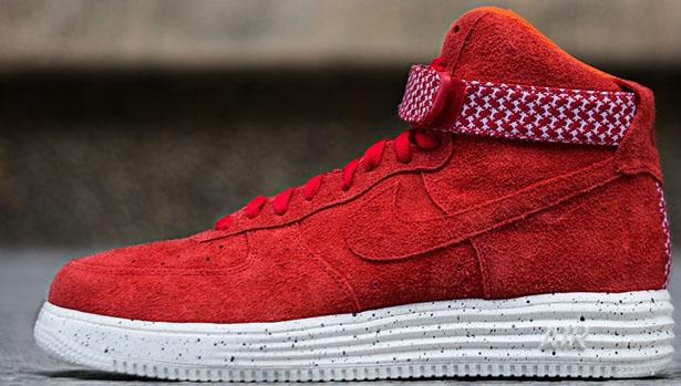Nike Lunar Force 1 Hi UNDFTD SP University Red/University Red