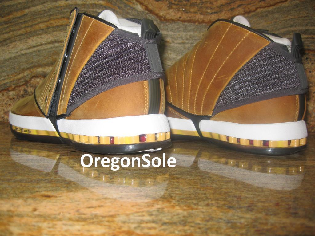 wholesale dealer c0458 08234 Air Jordan 16 Retro - Ginger - 2012 Unreleased Sample