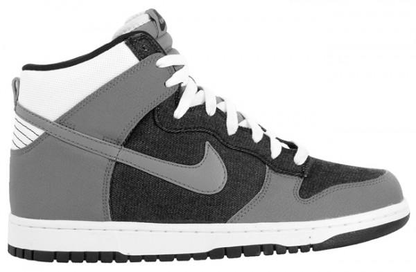 Nike Dunk High - Black/Cool Grey-White