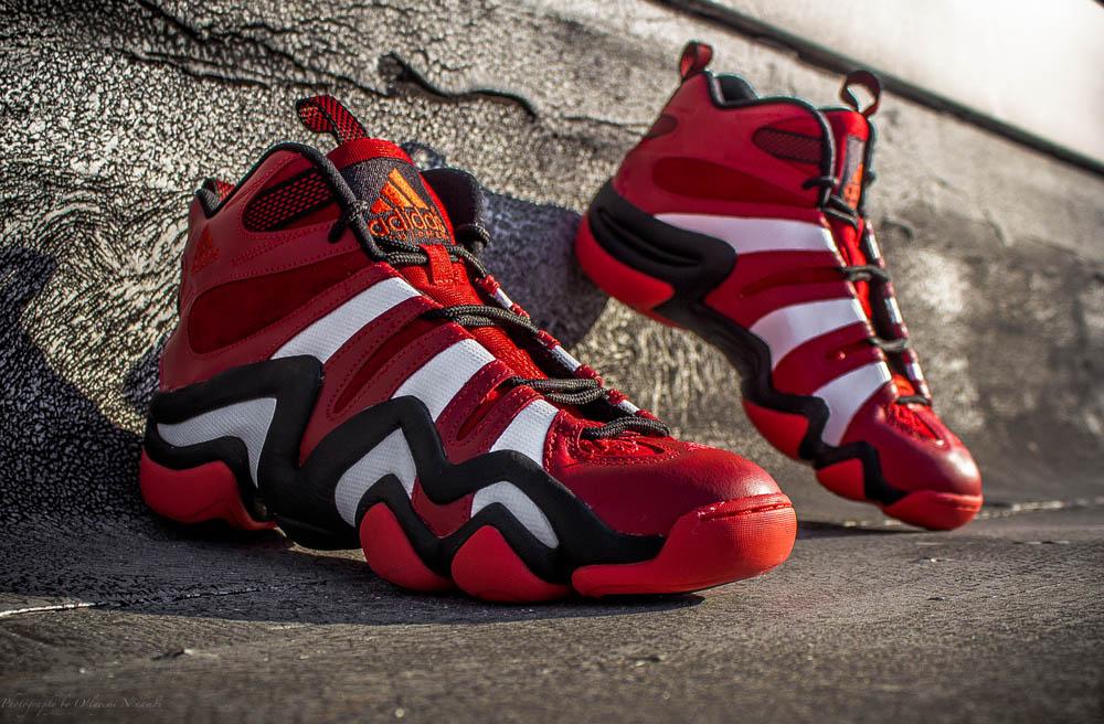 crazy 8 adidas red