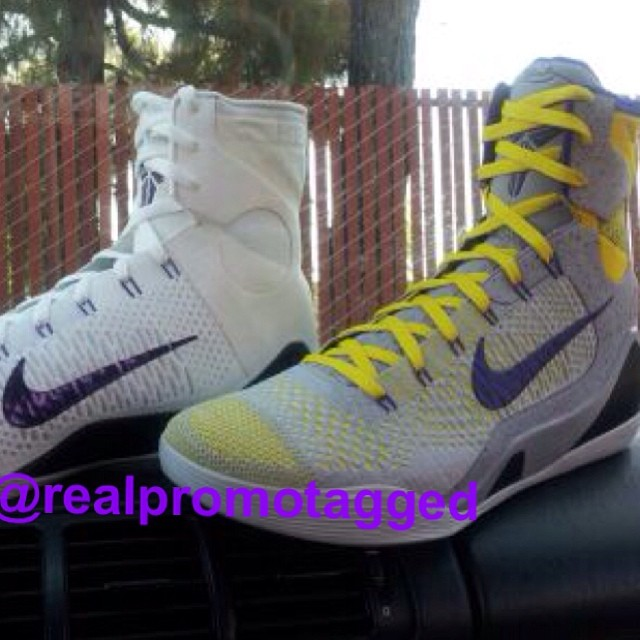 New Laker Colorways of the Nike Kobe 9 Elite (1)