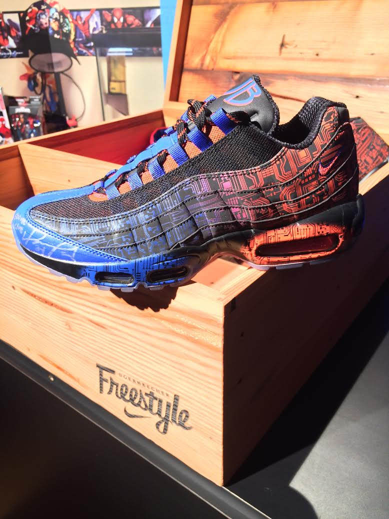 doernbecher x nike air max 95 2015