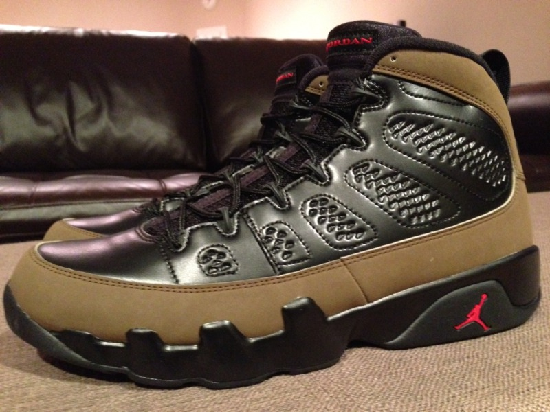 promo code ac55a 85536 Release Recap // Air Jordan 9 Retro - Olive | Sole Collector