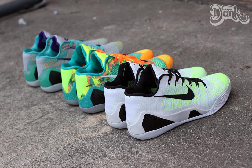 sneakers for cheap 6aec6 3d324 Nike Kobe 9 Elite Low Customs by JW Danklefs