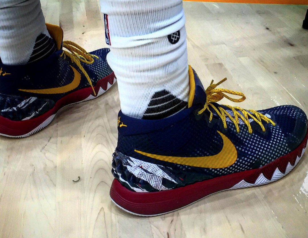 Here Are the Sneakers Kyrie Irving Wore