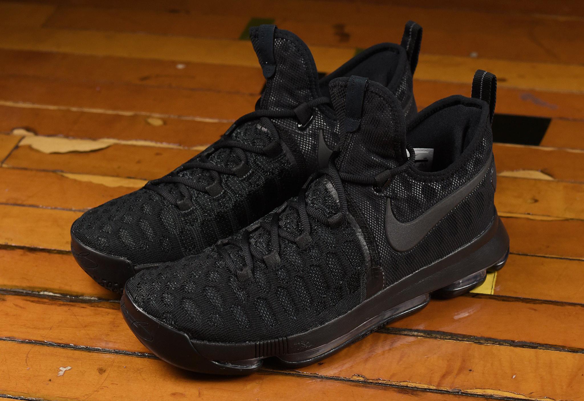 Nike KD 9 Triple Black 843392-001