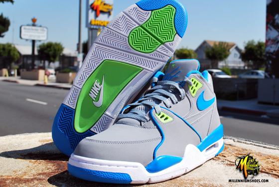 0b0e3b16e4 ... best price nike air flight 89 stealth neptune blue action green 645aa  1c8ee ...