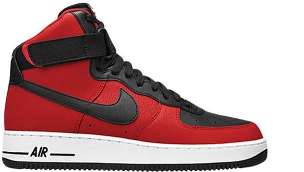 Nike Air Force 1 High University Red/Black