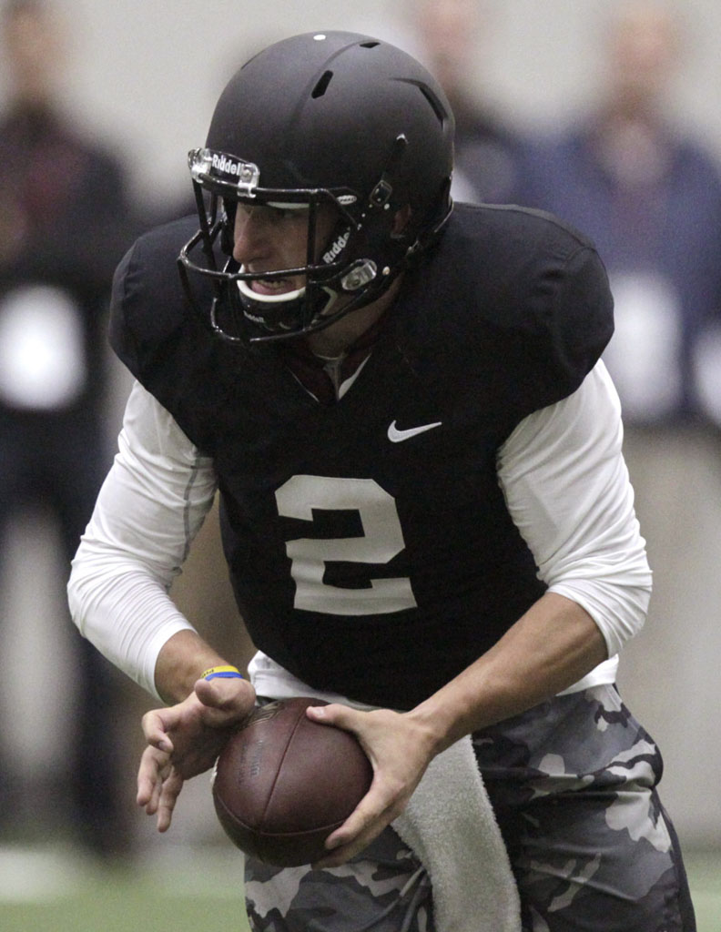 Johnny Football Wears Nike for NFL Pro Day (3)