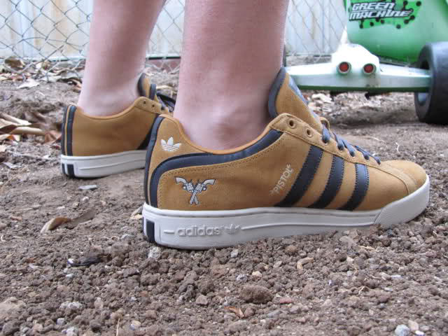 Spotlight // Forum Staff Weekly WDYWT? - 8.31.13 - adidas Pistol Pete Low Wheat by RICK JAMES