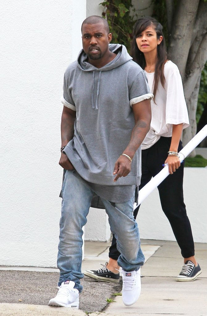 Kanye West Wearing Nike Air Max 90 Hyperfuse USA Pack (1)