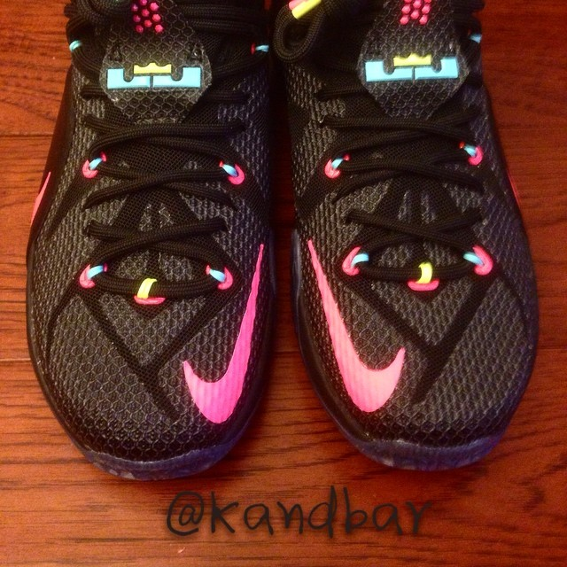 New Nike LeBron 12 Sample | Sole Collector