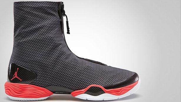 Air Jordan 28 Carbon Fiber Black/Bright Crimson