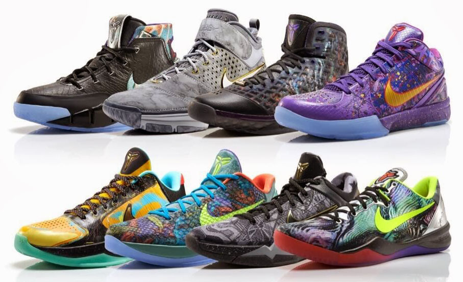 Best Retros of 2014: Nike Kobe Prelude Pack