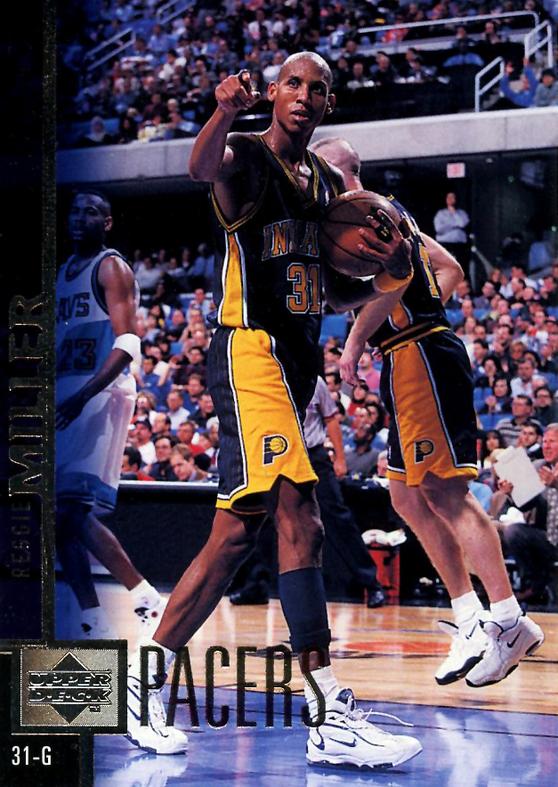 997bcabff395 Flashback    Reggie Miller Sneaker Moments