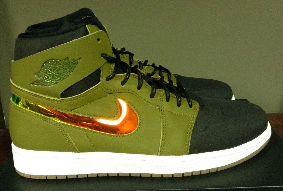 bd84cd21bae2 Air Jordan 1 Nouveau Militia Green 819176-306 (1)