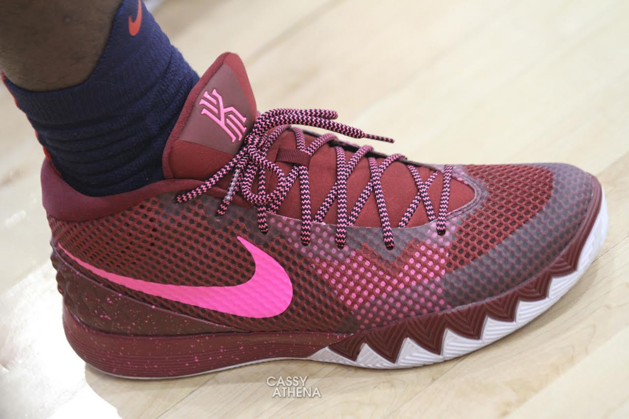 nike kyrie irving kids red