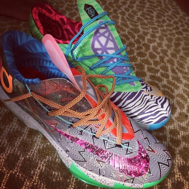 DeMarcus Cousins Picks Up Nike KD VI 6 What The