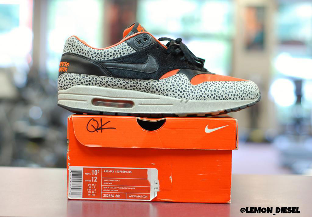 Spotlight // Pickups of the Week 9.1.13 - Nike Air Max 1 Supreme QK Keep Rippin Stop Slippin by lemon_diesel