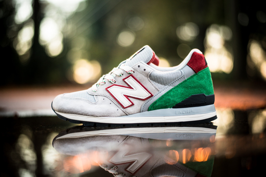 New Balance Red And Green