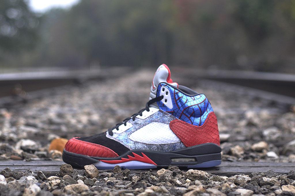 JBF Customs x Sekure D - Air Jordan 5 Cobra Commander (1)