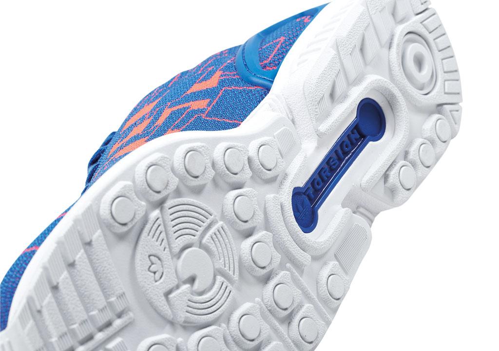 Adidas zx flusso tessere schema confezione solo collezionista