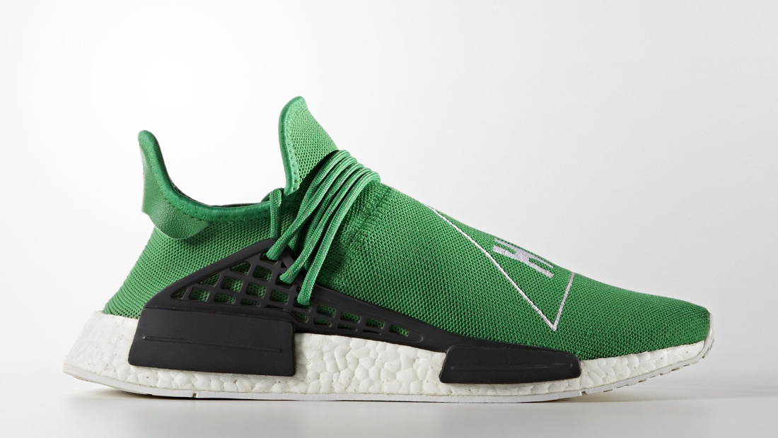 adidas HU NMD x Pharrell Williams Green Sole Collector Release Date Roundup