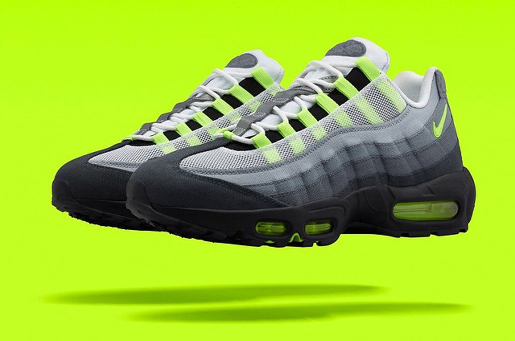 NikeLab Puts Patches on the  Neon  Air Max 95  f0e6c9aef