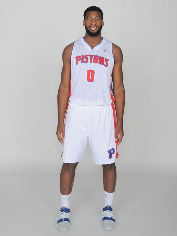Andre Drummond wearing adidas TS Lightswitch Gil