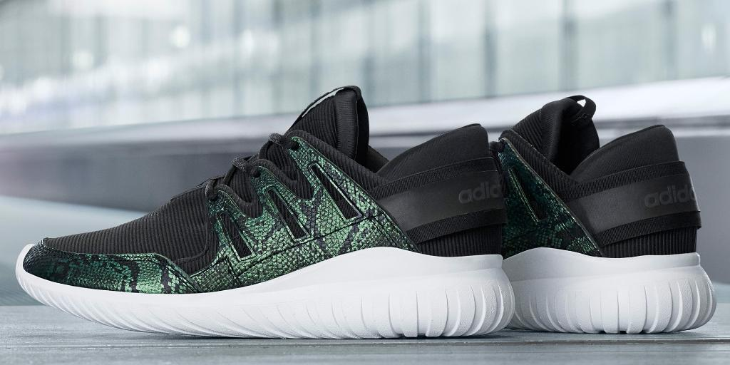 Adidas drops a Tubular x Primeknits with Crocodile Detailing The
